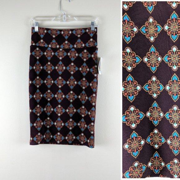 LuLaRoe Dresses & Skirts - Ethnic Print LulaRoe Pencil Skirt